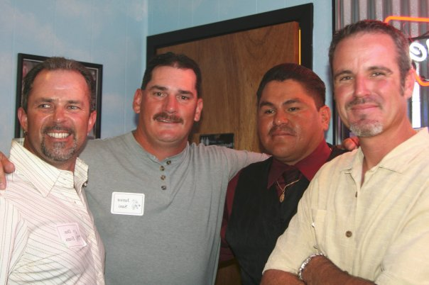 Don, Junior, Fernando and Mike